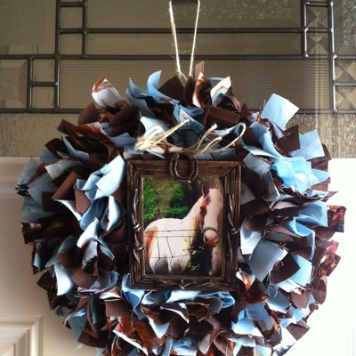 Favorite animal wreath!! (mini)