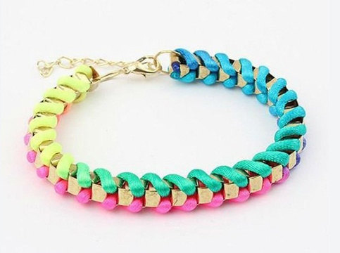 Colorful Neon bracelet