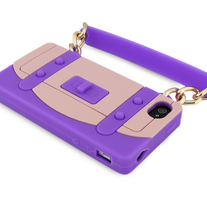 Purple Handbag Case (iPhone 4/4s)