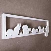 Squirrel Wall Hooks