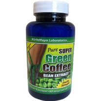 Pure Super Green Coffee Bean Extract 60 veggie caps as Seen on Dr Oz Show FREE SHIPPING
