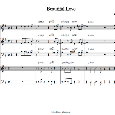 Beautiful love - sextet (february '14)