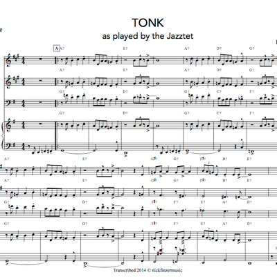 Tonk - jazz sextet (march '14)