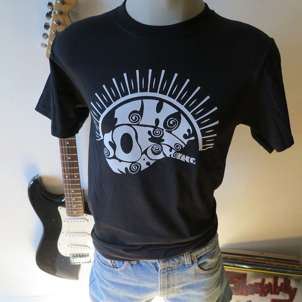 Soft machine tee t shirt screen print short sleeve shirt for Vintage screen print t shirts