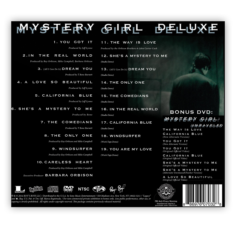 f1e5109907 Mystery Girl Deluxe · Roy Orbison Online Store · Online Store ...