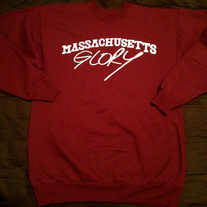 "Wolf Whistle - ""Massachusetts Glory"" Crewneck"