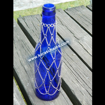 Chained Bottle Vase
