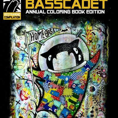 Basscadet - 2013 year end coloring book edition!