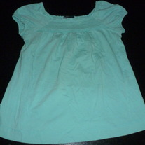 TEAL SHIRT-GAP KIDS-SIZE LARGE (10)