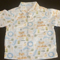 Dolphin Shirt-Janie and Jack-Size 6-12 Months