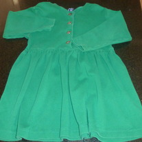 Green Dress-Gap-Size XS