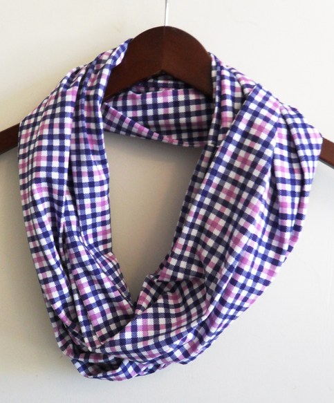 purple and navy plaid infinity scarf  u00b7 millie b  designs  u00b7 online store powered by storenvy
