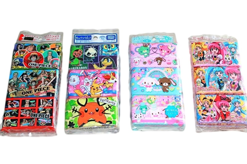 character pocket tissue pack pretty cure sugar bunnies pokemon one