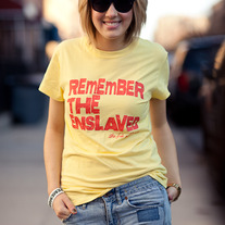 Remember the Enslaved T-Shirt
