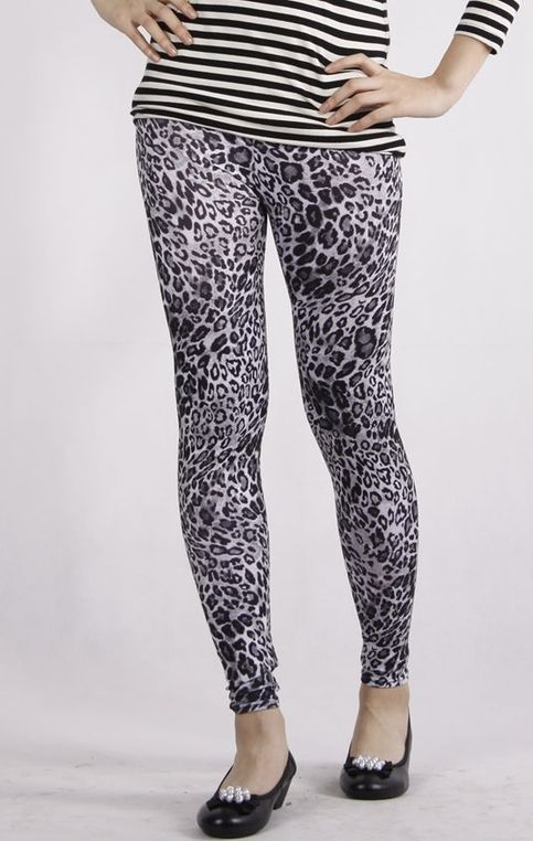 Tights For All White Leopard Print Tights Online Store