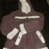 Brown Coat-Old Navy-Size 4T