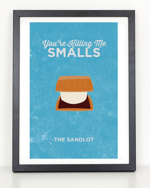 The Sandlot Minimalist Art Poster on Storenvy