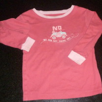 No We Are Not There Yet Sleep Shirt-Baby Gap Size 18-24 Months