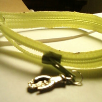 Zipper Bracelet with charm