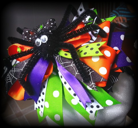 Halloween Spider Headbands