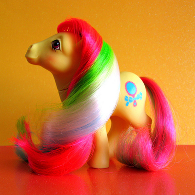 My little pony brush n' grow pretty vision
