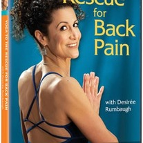 Yoga to the Rescue for Back Pain with Desiree Rumbaugh (DVD)