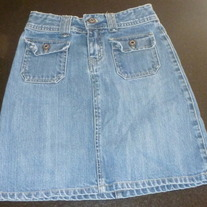 Denim Skirt-Old Navy Size 8