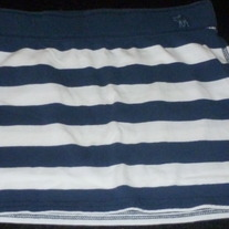 Navy/White Skirt-Abercrombie Size Large