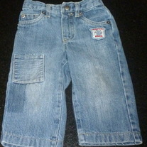 Denim Jeans-Monsters Rock-Koala Kids Size 12 Months