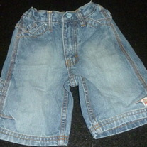 Denim Shorts-Timberland Size 2T