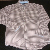 Red/White Checked Shirt-Gap Kids Size 6-7
