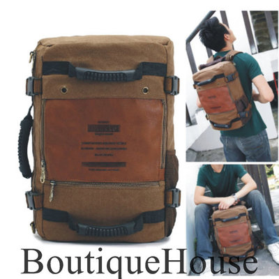 Mens leather backpack briefcase – Trend models of bags photo blog