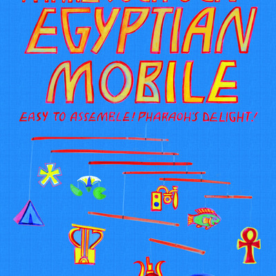Make your own egyptian mobile