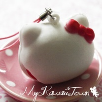 RARE Sanrio Hello-Kitty Marshmallow