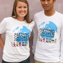 """Feeding Children Everywhere: Logo"" - White"