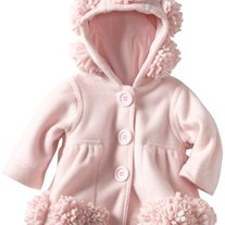 Biscotti By Kate Mack Pink Infant Hooded Coat