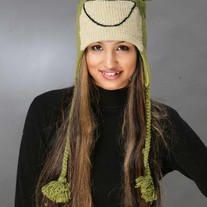 Light Green Frog Hat