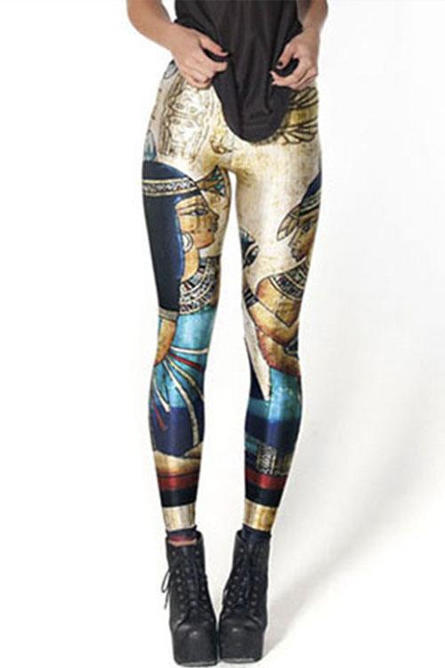 Pharaoh Digital Print Leggings on Storenvy