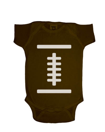 FOOTBALL COSTUME ONESIE FUNNY BABY ONESIE CUTE BABY STUFF