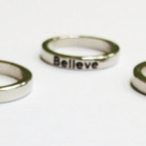 Hope Ring - Silver - Thumbnail 1
