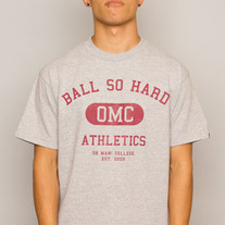 The Ball So Hard Tee in Heather Grey