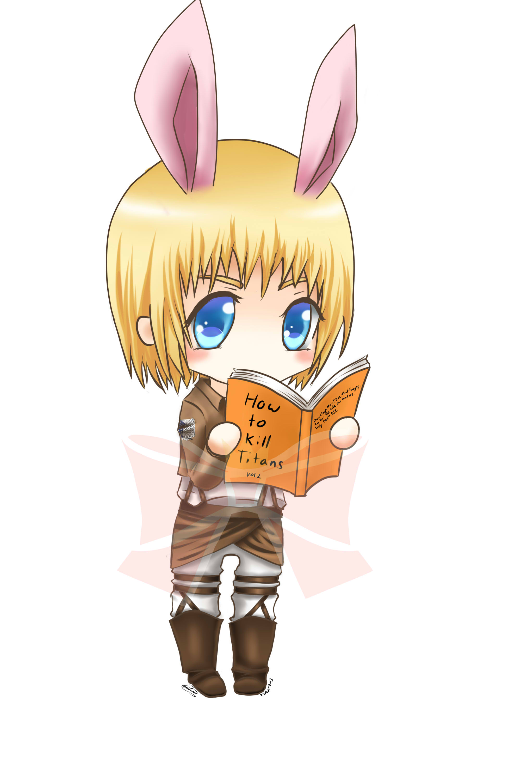 Armin Chibi Sticker Princess Lunas Bow Tique Online Store
