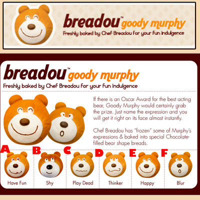 Breadou goody murphy squishy