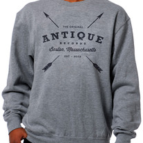 Antique Records - Crew Neck Sweatshirt