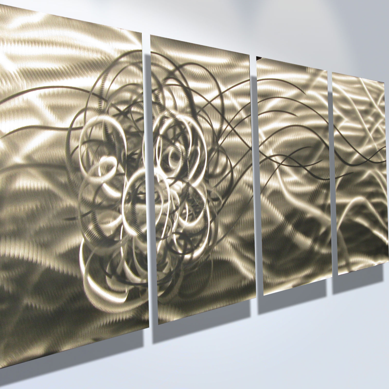 Metal Art Decor Torrent Abstract Metal Wall Art Contemporary Modern Decor