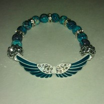 Blue Wings Bracelet