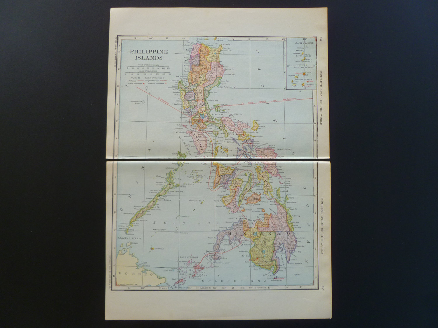 Antique map philippine islands 1912 old print about the il fullxfull577295225 68yg original publicscrutiny Images