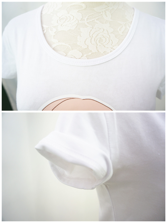 Chibi Fetsu Chan Kawaii Custom Design Tailor Made Cotton T Shirt