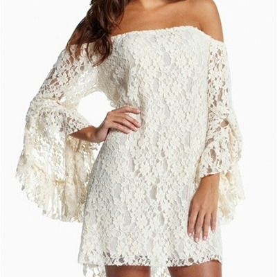 Angelic lace dress sm/med