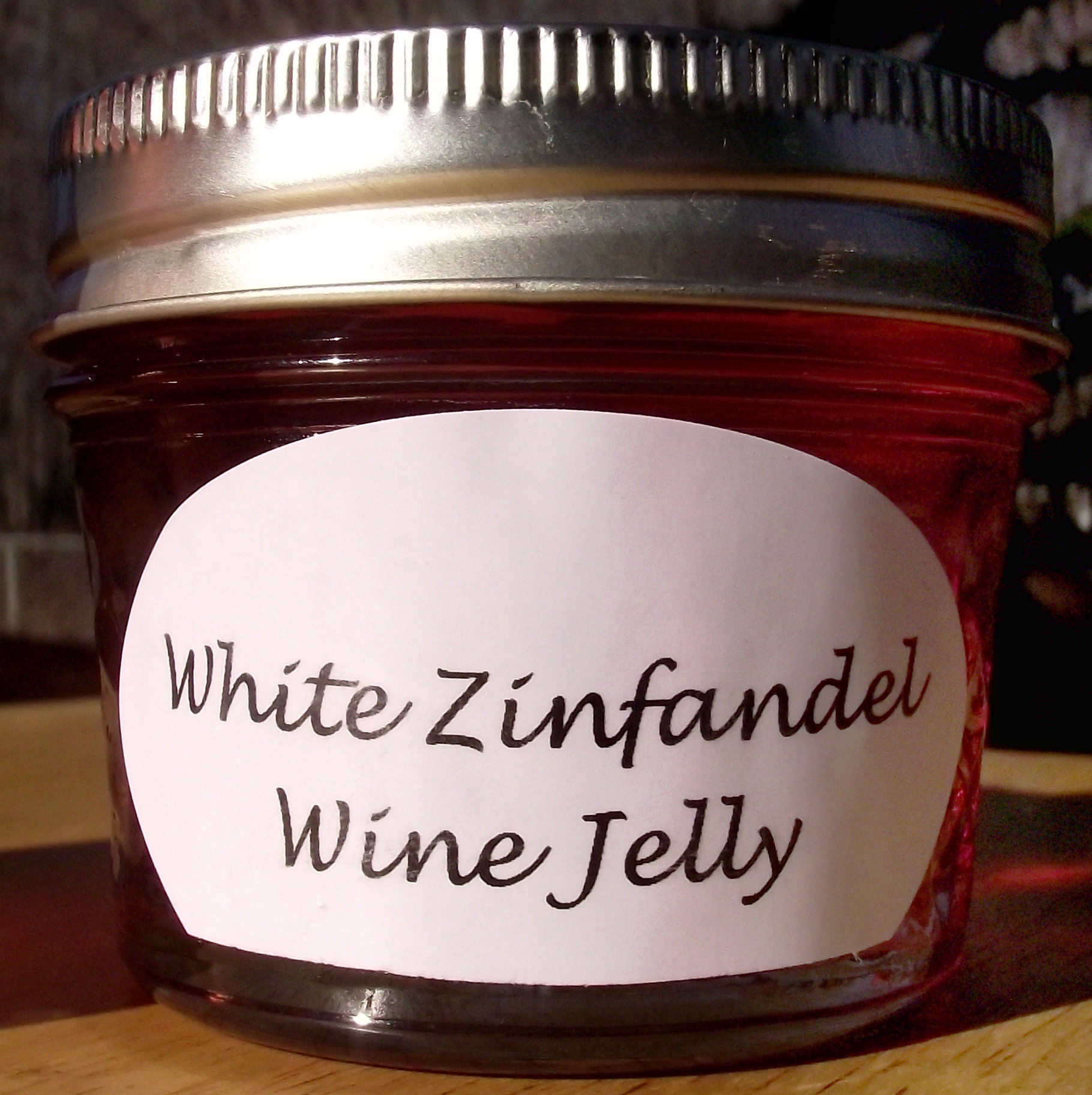 White Zinfandel Wine Jelly via Storenvy